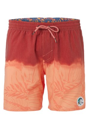 Short de bain - red/orange