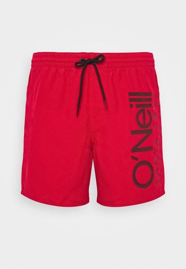 ORIGINAL CALI - Szorty kąpielowe - haute red