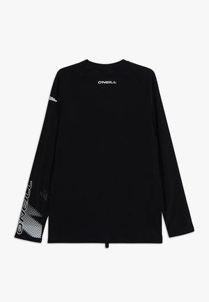 LONG SLEEVE SKINS - Koszulki do surfowania - black