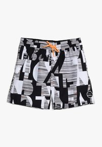 O'Neill - STRIKE OUT SHORTS - Shorts da mare - black/white - 0