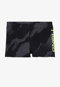 O'Neill - CALI CAMO SWIMTRUNKS - Uimahousut - black/grey - 2