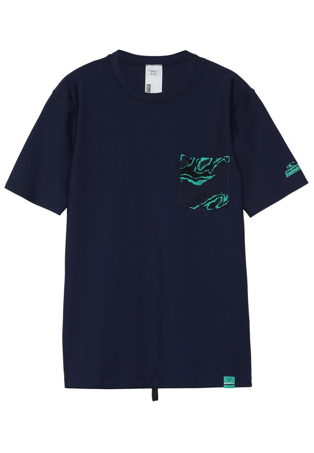 BASE SKINS - Surfshirt - dark blue