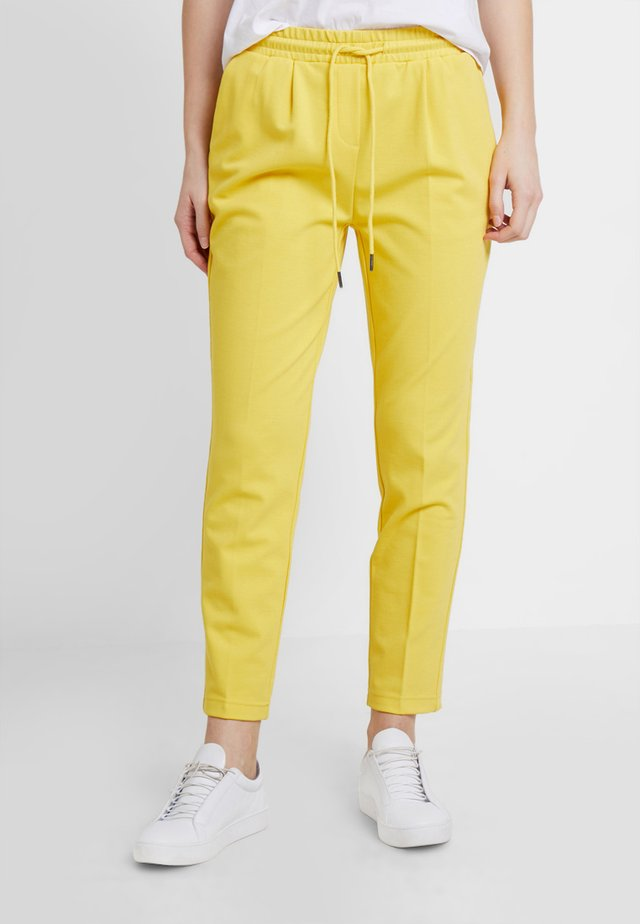 TROUSER - Trousers - sunshine yellow