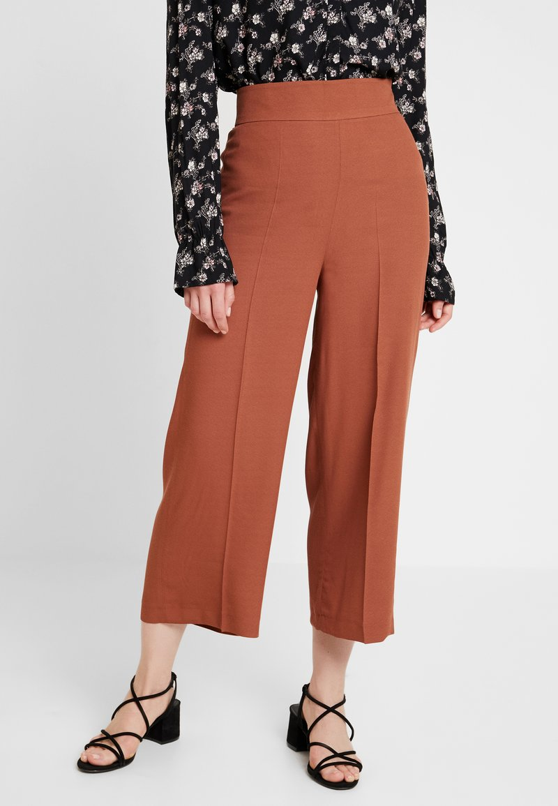 one more story - TROUSER - Trousers - coffee caramel