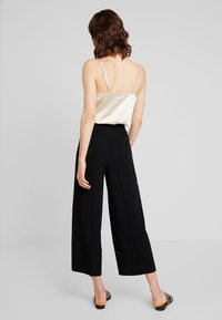 one more story - TROUSER - Kalhoty - black - 2