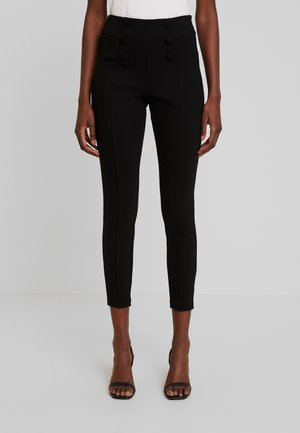 TROUSER - Spodnie materiałowe - black