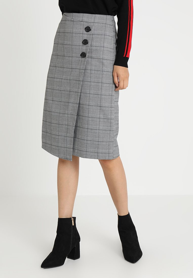one more story - SKIRT - A-Linien-Rock - black