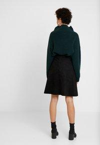 one more story - SKIRT - A-line skirt - black - 2