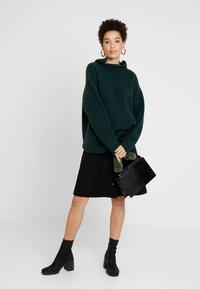 one more story - SKIRT - A-line skirt - black - 1
