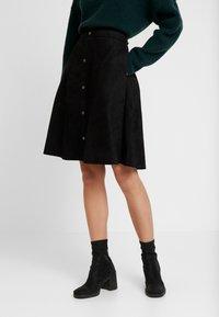 one more story - SKIRT - A-line skirt - black - 0
