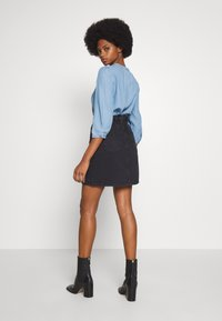 one more story - SKIRT - A-line skirt - black washed - 2