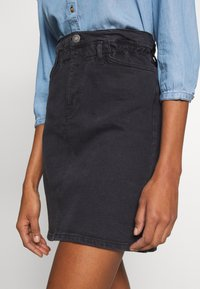 one more story - SKIRT - A-line skirt - black washed - 3