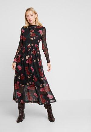 DRESS - Vardagsklänning - black multi color