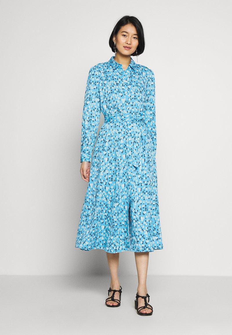 one more story - DRESS - Skjortekjole - alaskan blue