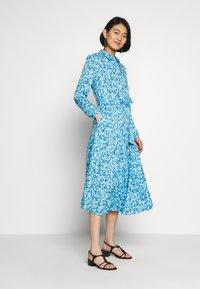 one more story - DRESS - Skjortekjole - alaskan blue - 1