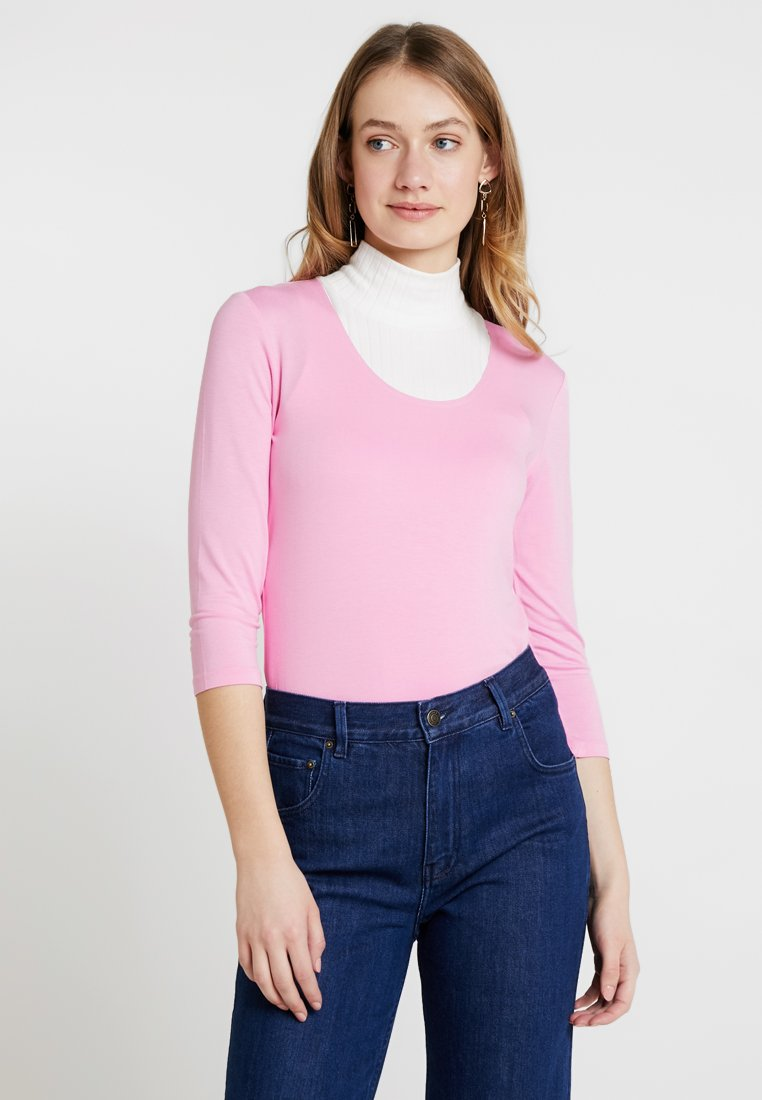 one more story - Langarmshirt - pink