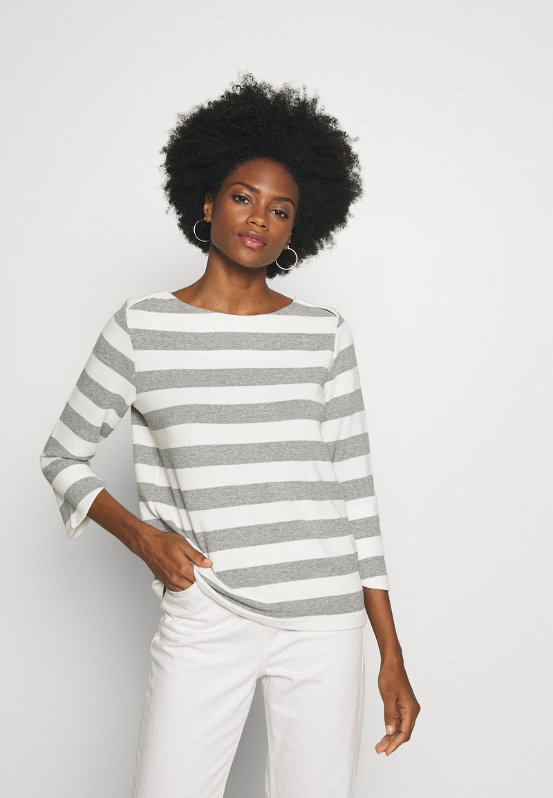 one more story - Long sleeved top - silver grey