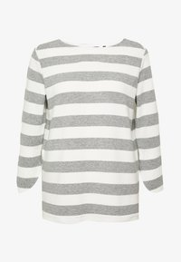 one more story - Long sleeved top - silver grey - 4