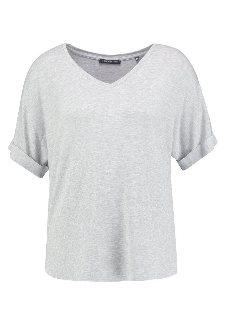 One More Story T-shirt Basic - Grey jVJN96G