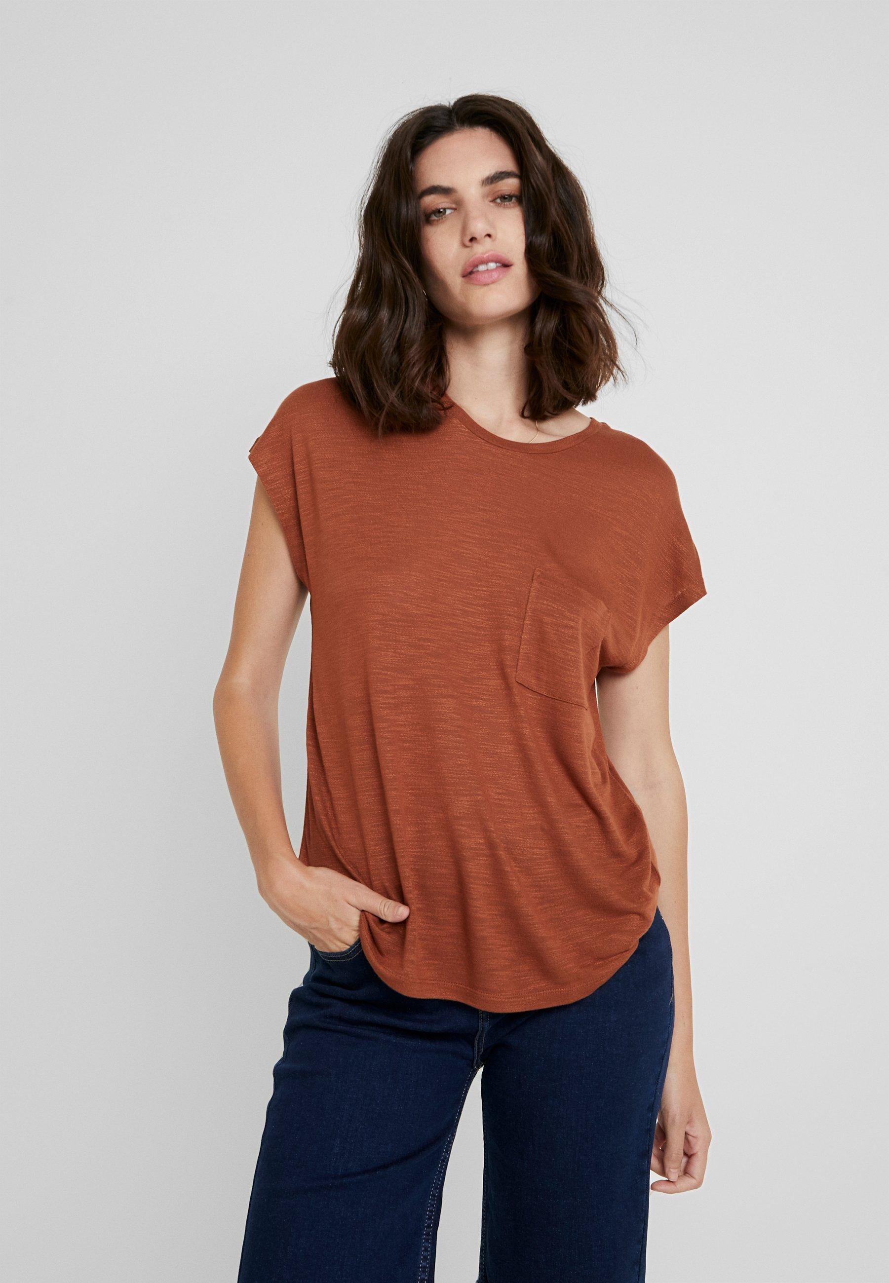Caramel BasiqueCoffee shirt One More Story T dCtxhsQrB