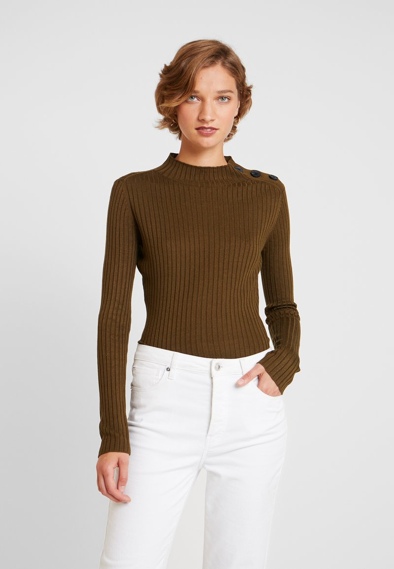 one more story - Jumper - military olive