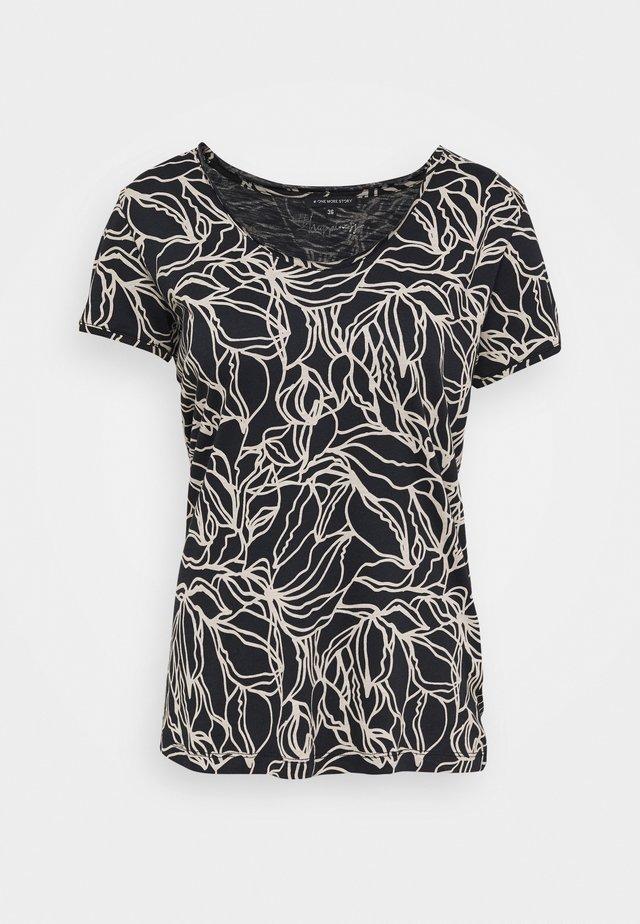 T-shirts print - dark blue