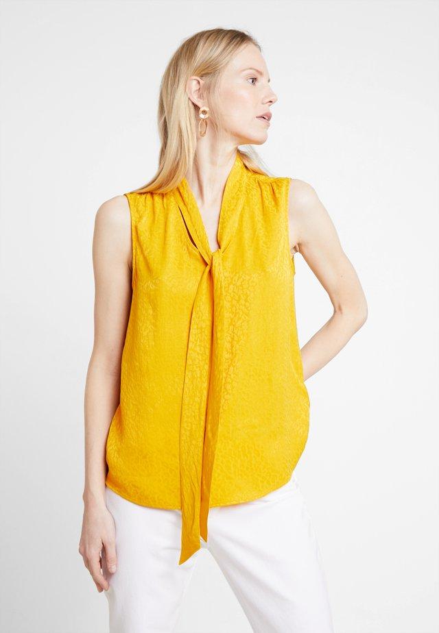 BLOUSE - Bluse - golden glow