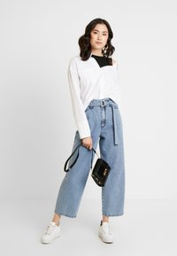 one more story - Button-down blouse - white - 1