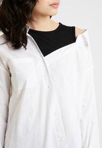 one more story - Button-down blouse - white - 5