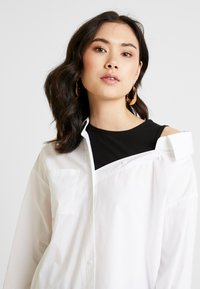 one more story - Button-down blouse - white - 3