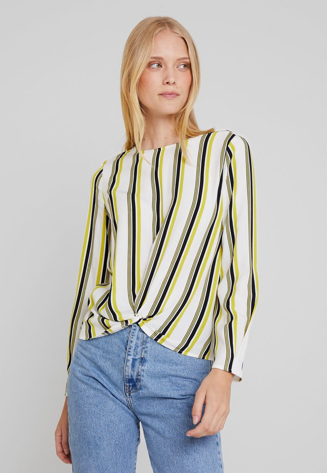 BLOUSE - Blůza - offwhite/multi color