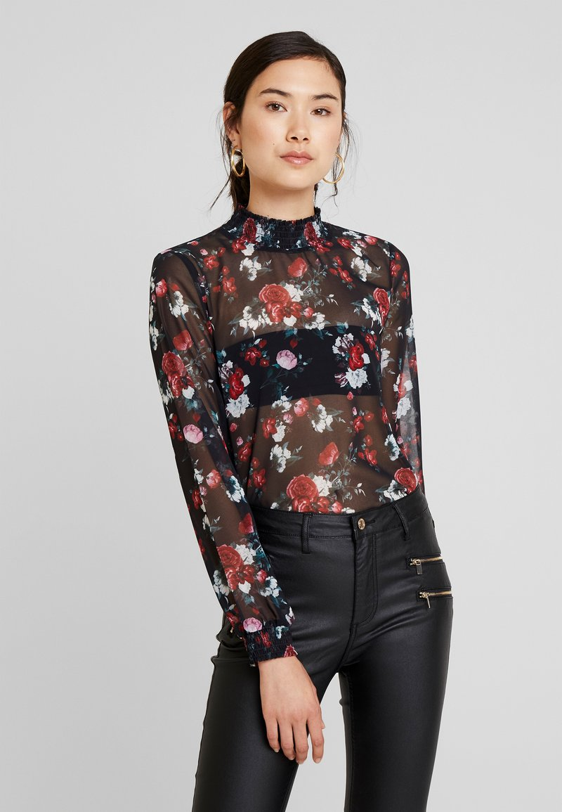 one more story - Blouse - black multi color