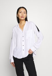 one more story - Button-down blouse - white - 0