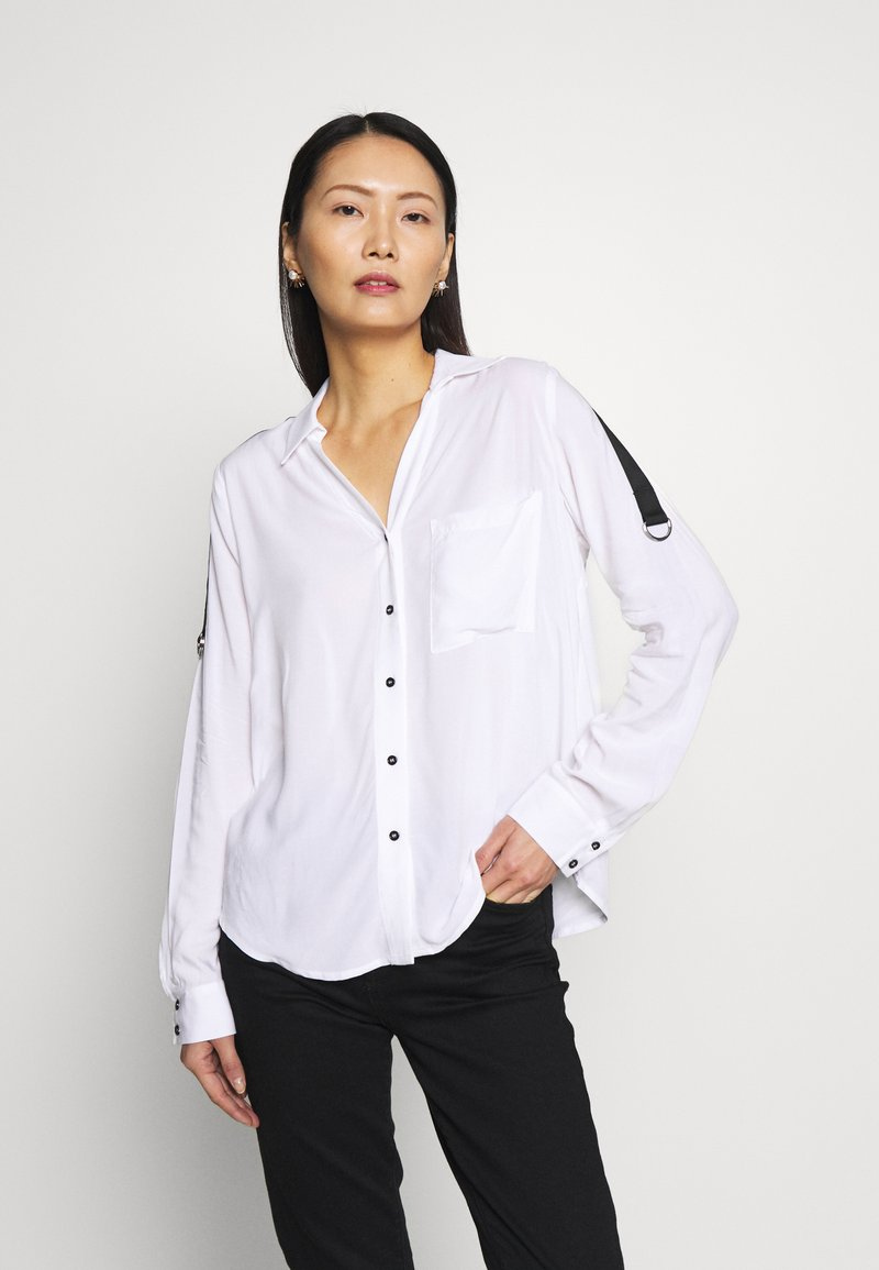 one more story - Button-down blouse - white
