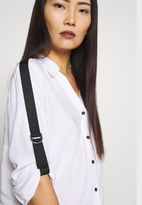 one more story - Button-down blouse - white - 4