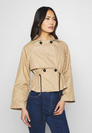 JACKET - Summer jacket - beige