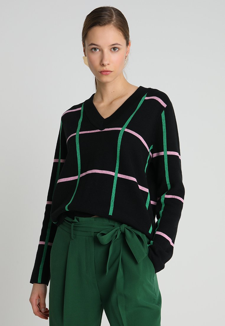one more story - Pullover - black/multicolor