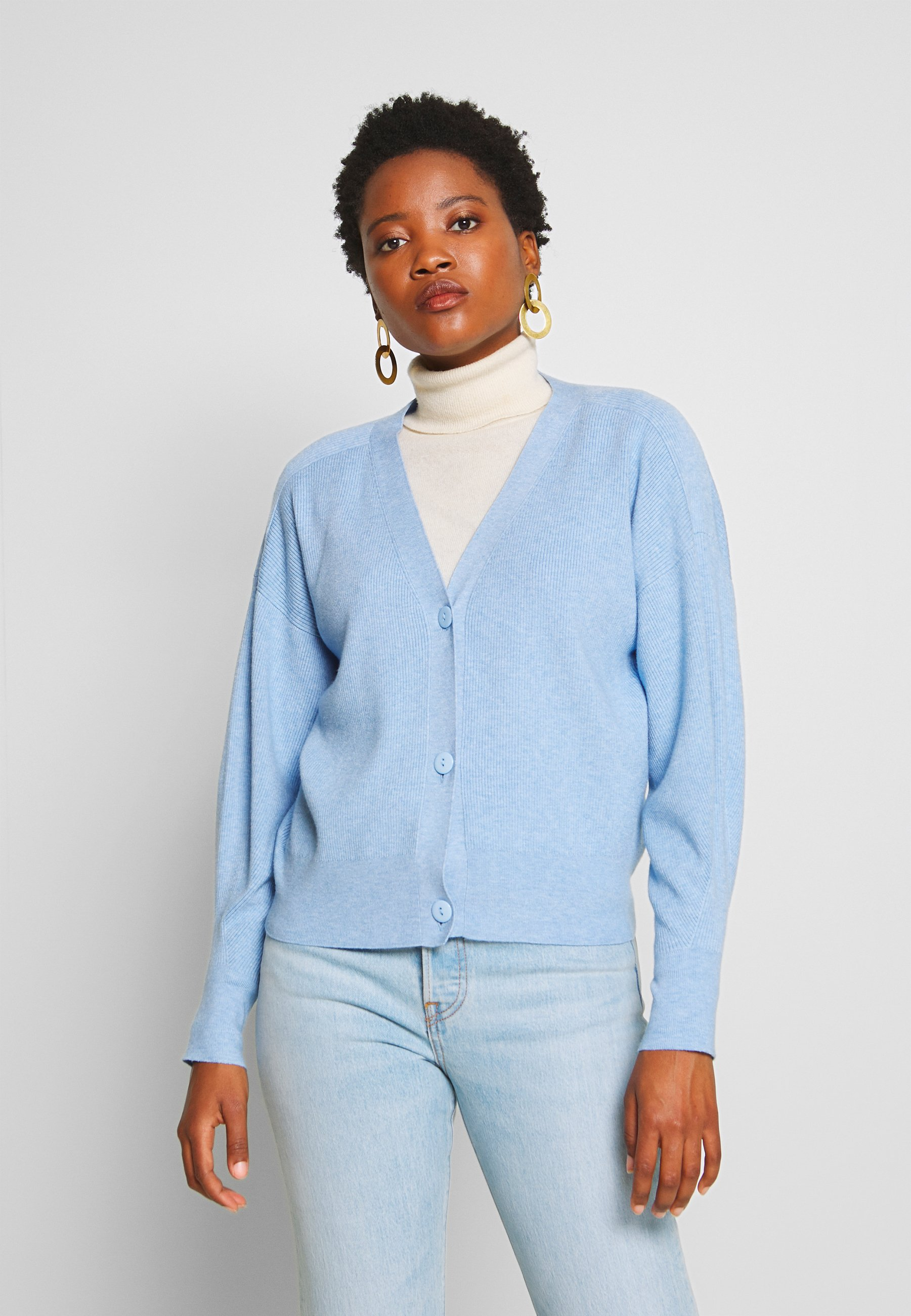 one more story CARDIGAN - Cardigan - placid blue