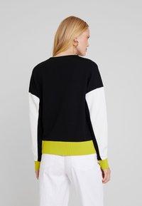 one more story - Sweatshirt - bright lemon/multicolor - 2