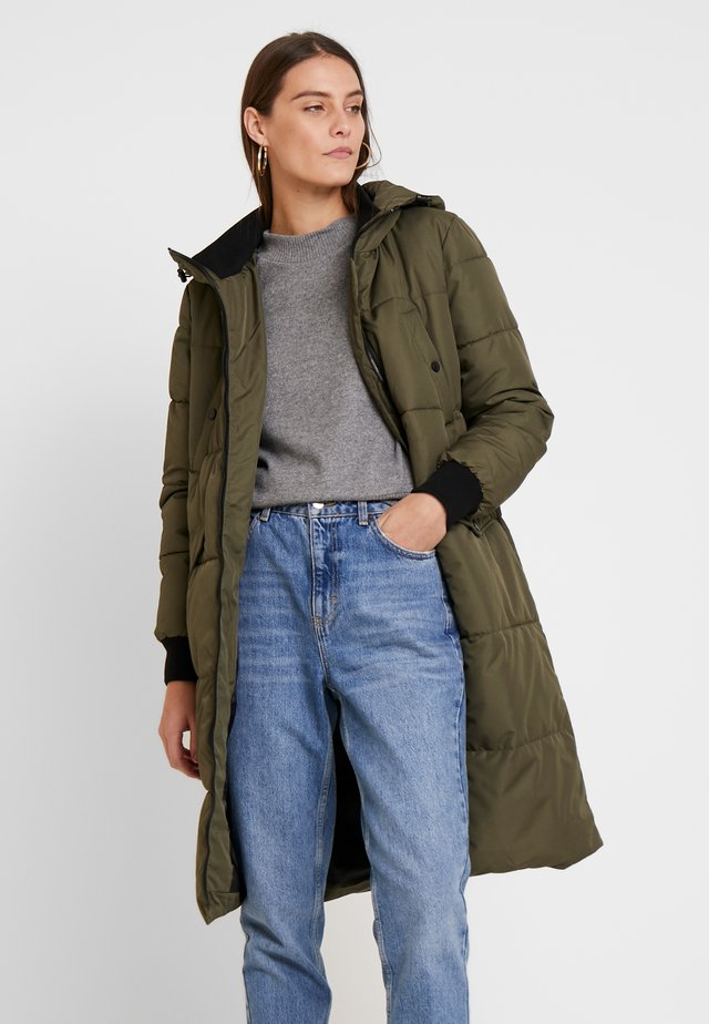 COAT - Winter coat - military olive