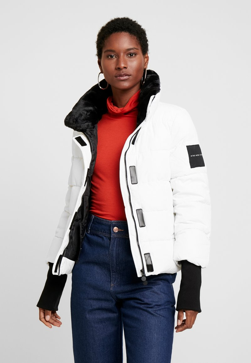 one more story - JACKET - Winter jacket - white