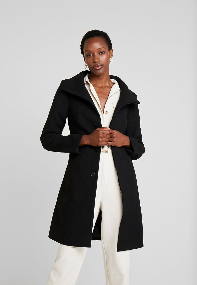 one more story - COAT - Classic coat - black