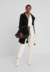 one more story - COAT - Classic coat - black - 1