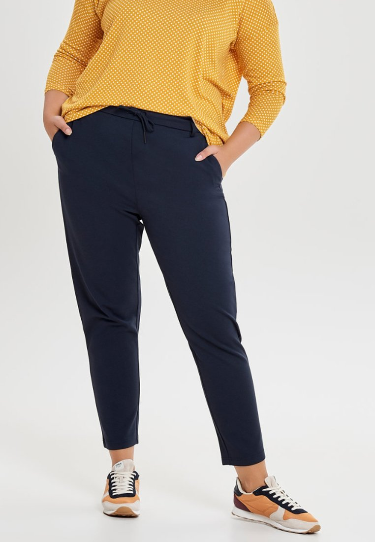 ONLY Carmakoma - CARGOLDTRASH CLASSIC - Broek - dark blue