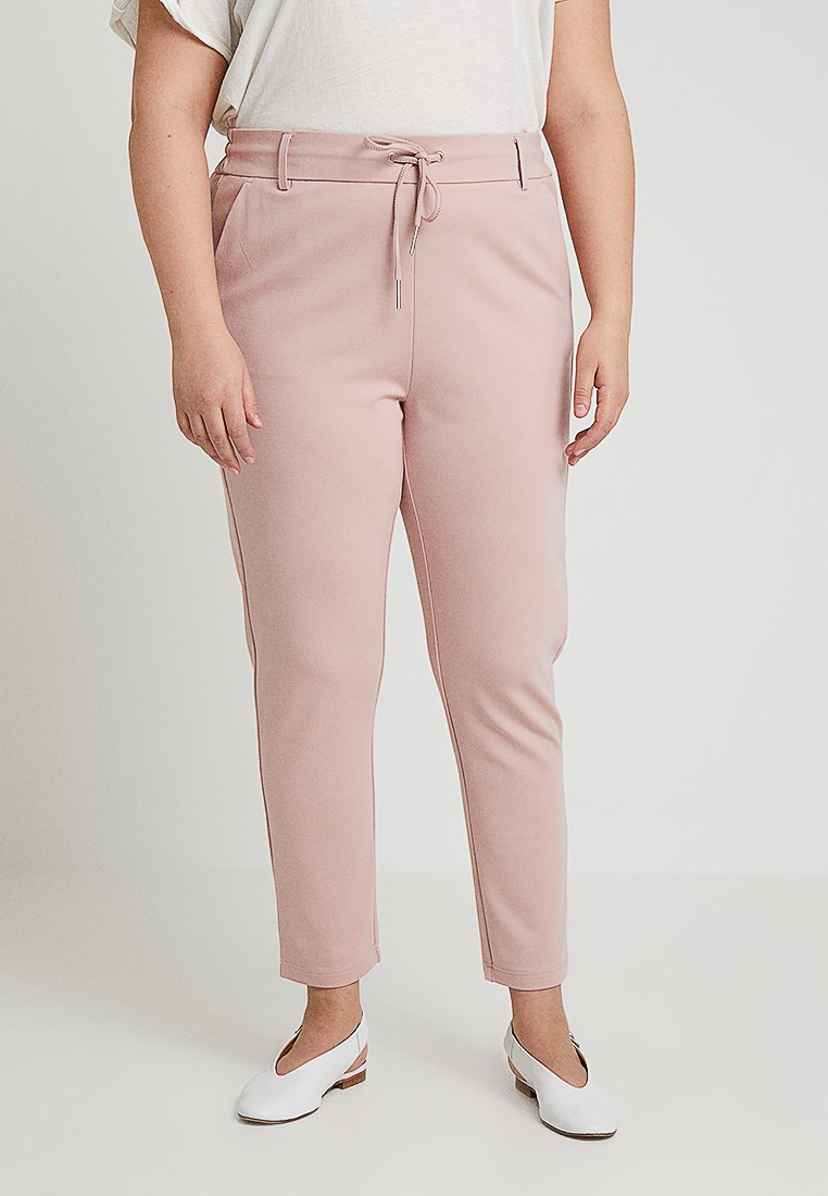 ONLY Carmakoma - CARGOLDTRASH CLASSIC - Trousers - pale mauve