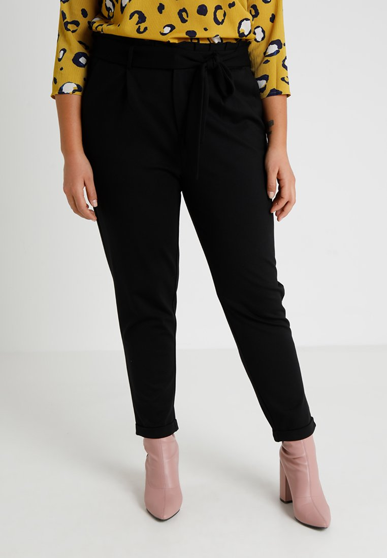 ONLY Carmakoma - CARGOLDTRASH - Kalhoty - black