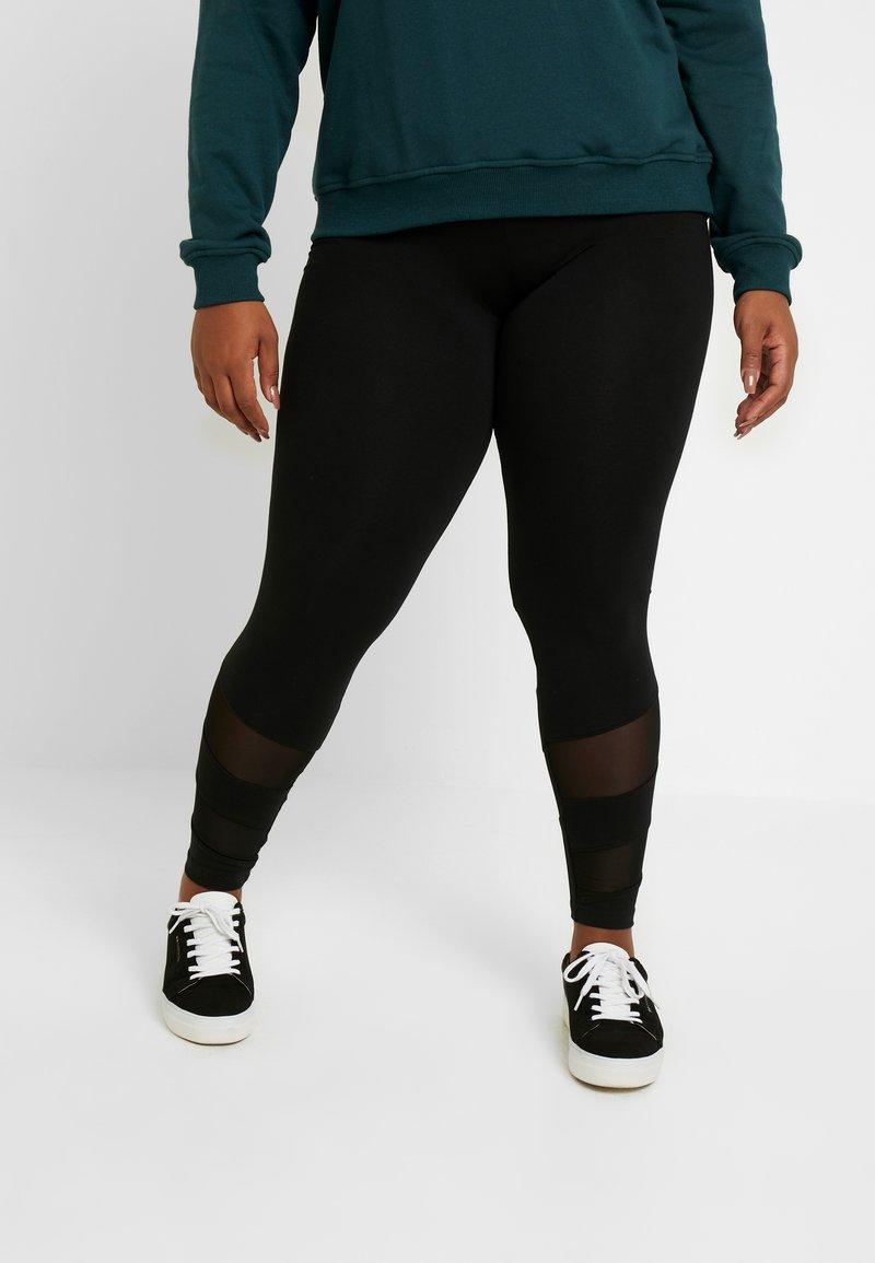 ONLY Carmakoma - CARMESSIA  - Leggings - black