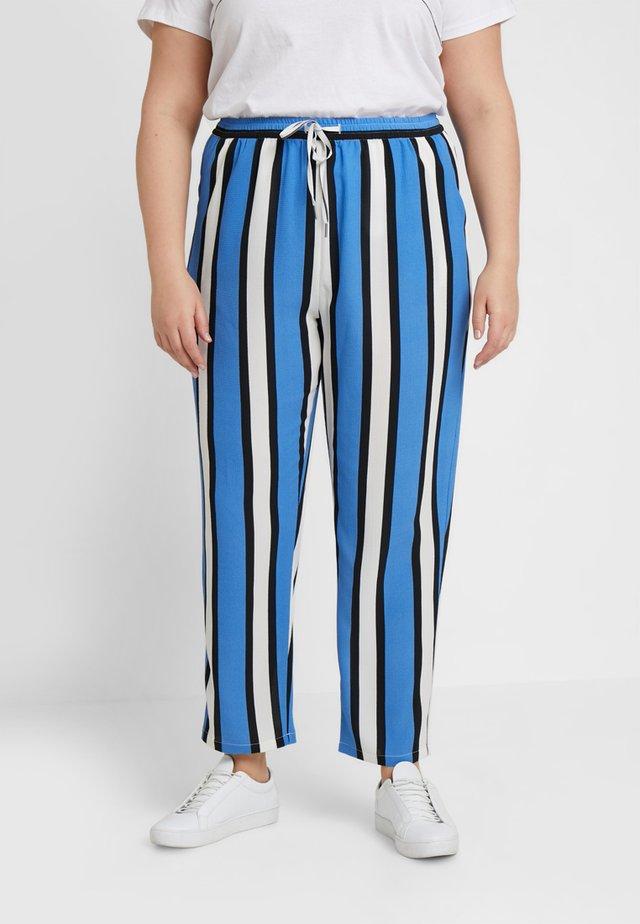 CARLUX CECILIA LOOSE PANTS - Pantalones - marina