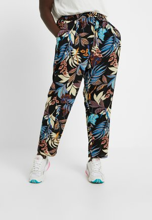 CARLUX  PANTS - Trousers - black