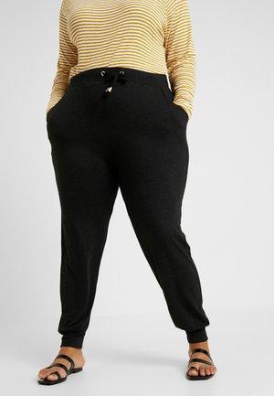 CARCARMA PANTS - Pantalones deportivos - black/melange